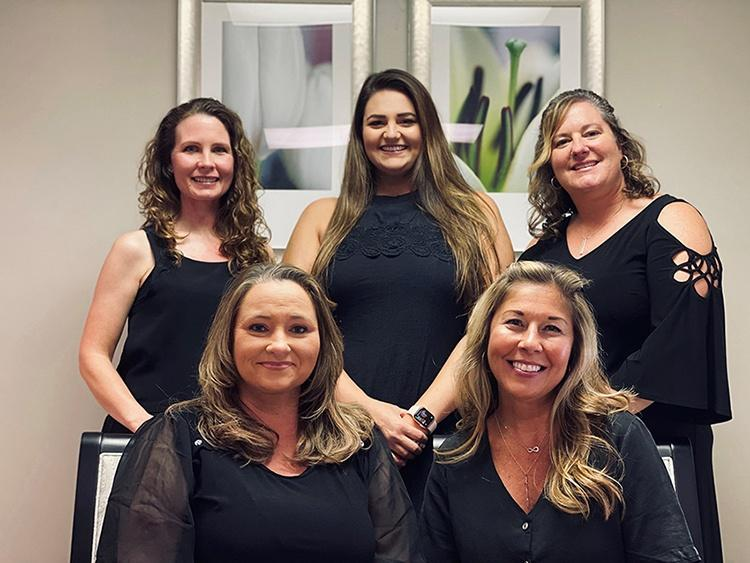 Image of the Women's Imaging Specialists (WIS) Gulf Shores staff