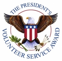 The President's Volunteer Service Award logo