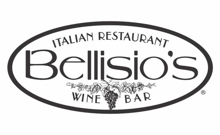 Bellisio's black and white logo