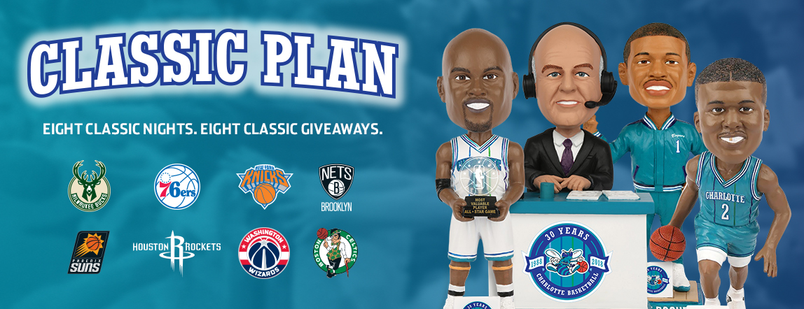 Charlotte Hornets Announce Schedule of Eight Classic Nights