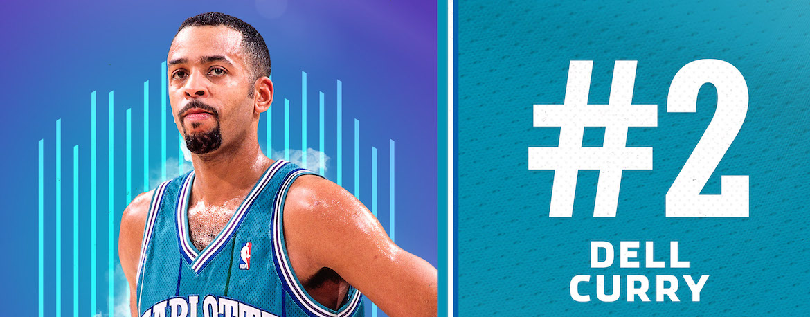Curry Named 2nd on Hornets 30th Anniversary Team