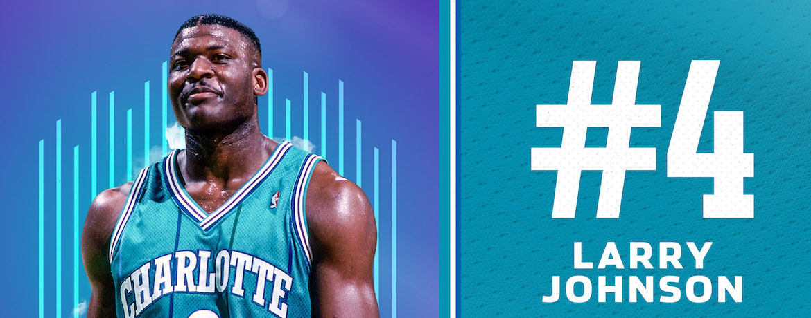 Johnson Named 4th on Hornets 30th Anniversary Team