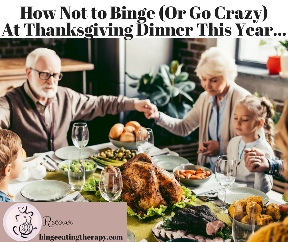 how not to binge at thanksgiving