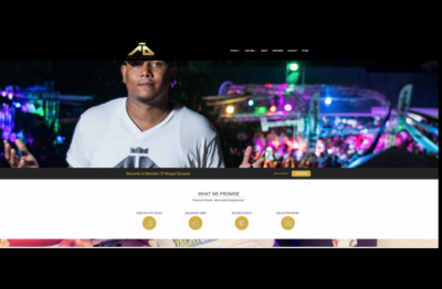 Entertainment, Events and Online Store