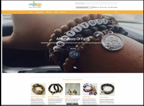 Hand-Beaded Jewelry Catalogue/Online Store