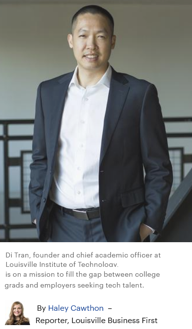Louisville Business First - Family Award - Di Tran - Founder of Louisville Institute of Technology