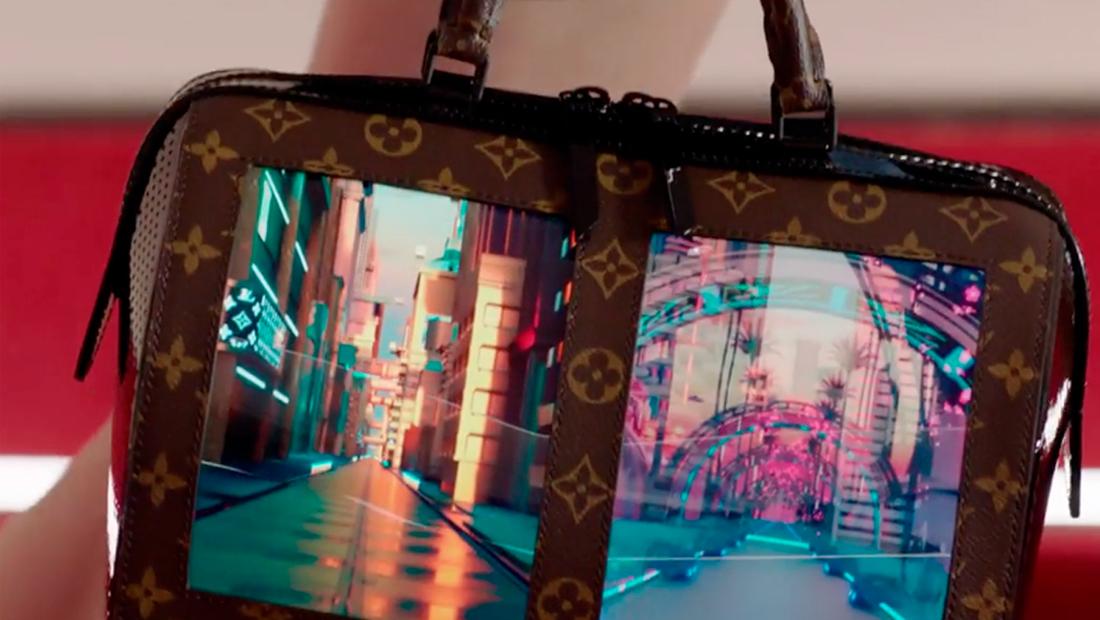 Bolsos con pantallas: la nueva apuesta de Louis Vuitton