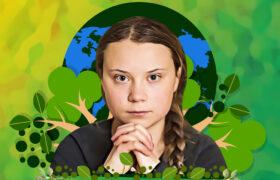 Greta Thunberg, la voz dulce y prominente contra el cambio climático