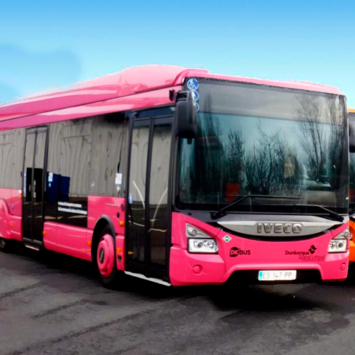 Dunkerque, la primera ciudad en implementar los autobuses gratuitos en Europa