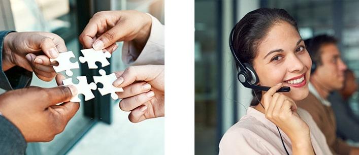 Servicios call center