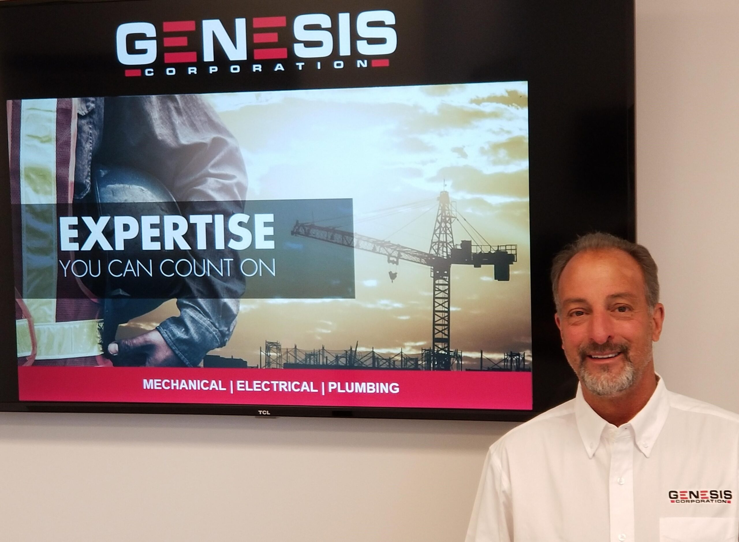 GENESIS CORPORATION WELCOMES JIM STAHL AS DIRECTOR OF CONSTRUCTION