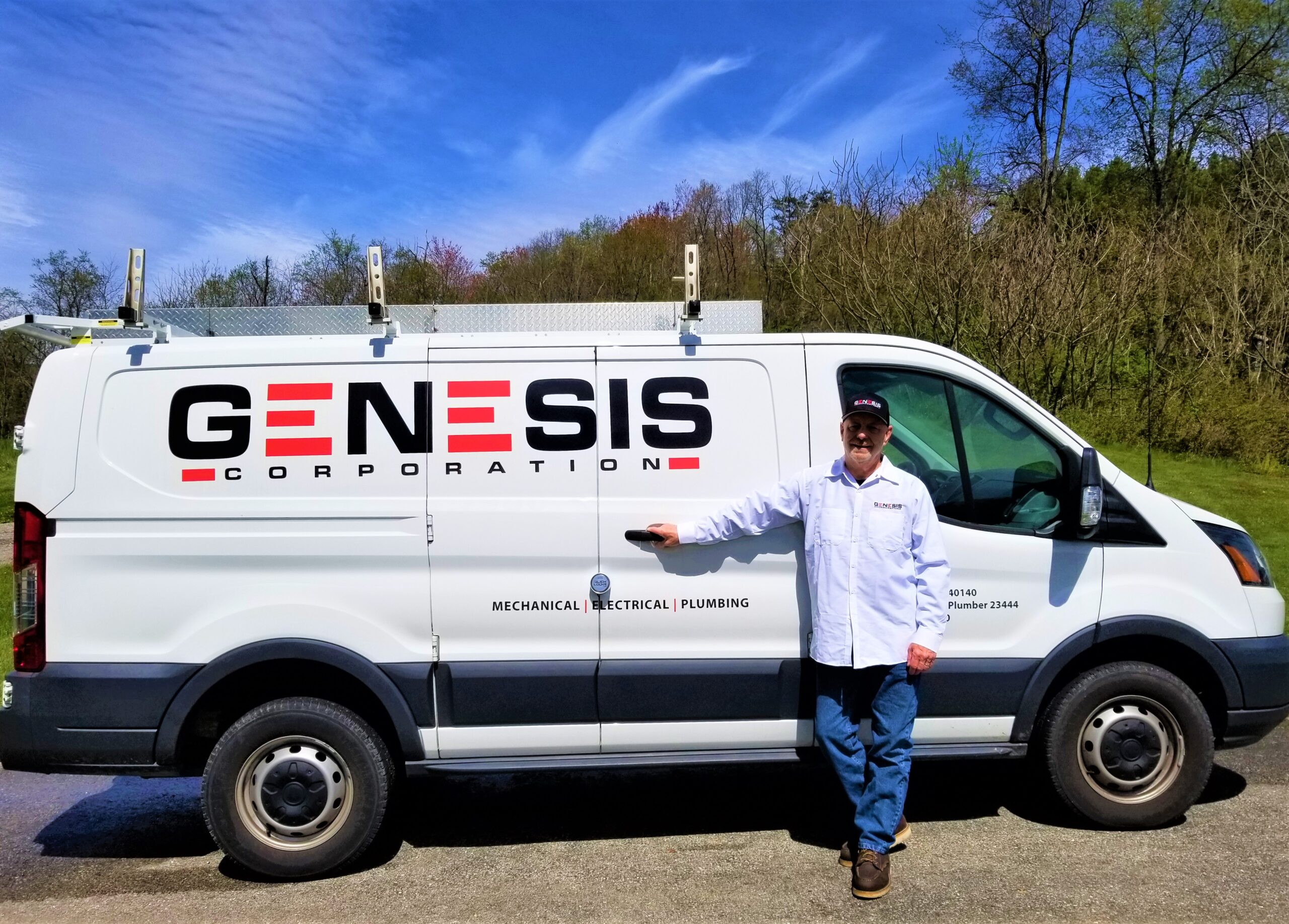 Genesis Corporation welcomes Senior HVACR Technician Jim Ford