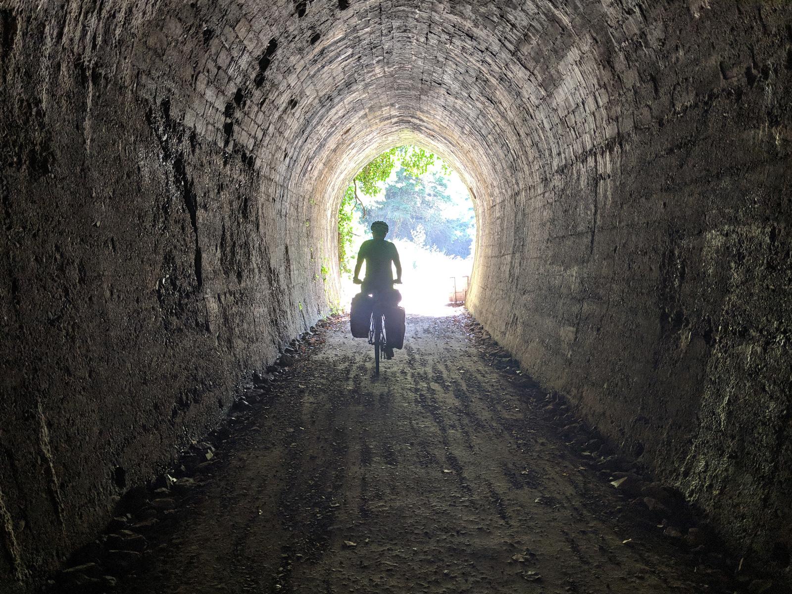 Spooners Tunnel. Belgrove, New Zealand