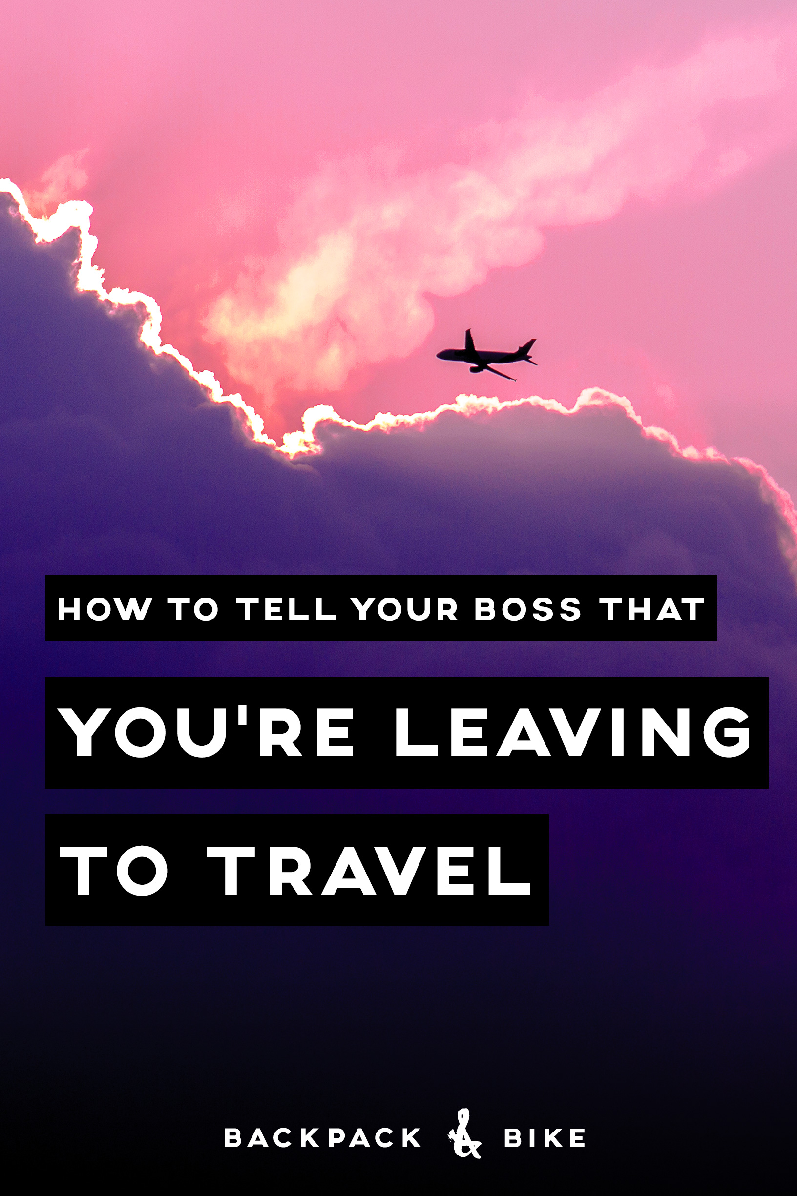 Thinking about how to tell your boss you're leaving to travel? Here are 5 pieces of advice that'll help you plan before your important meeting.