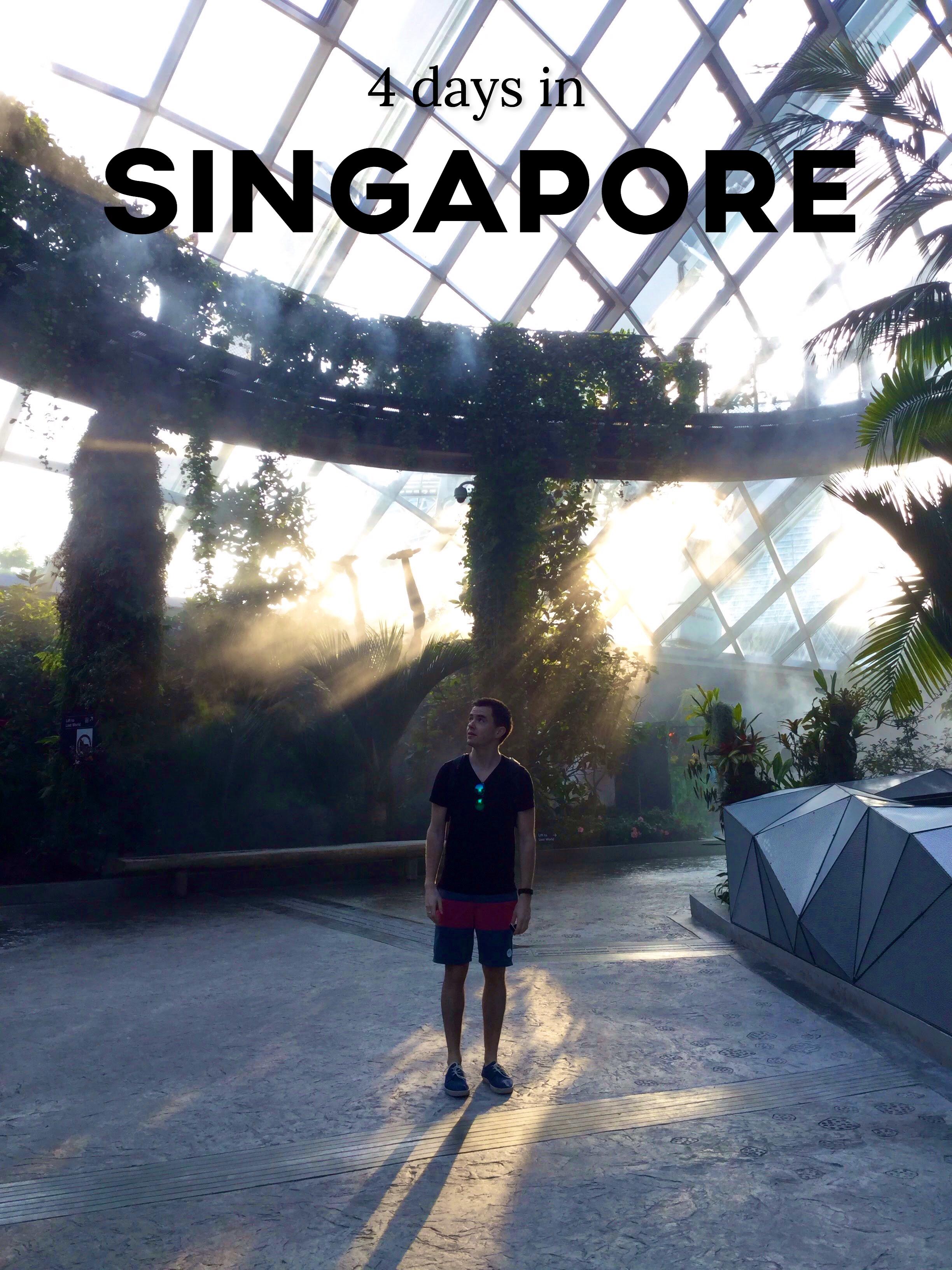 4 days in Singapore | Backpack & Bike