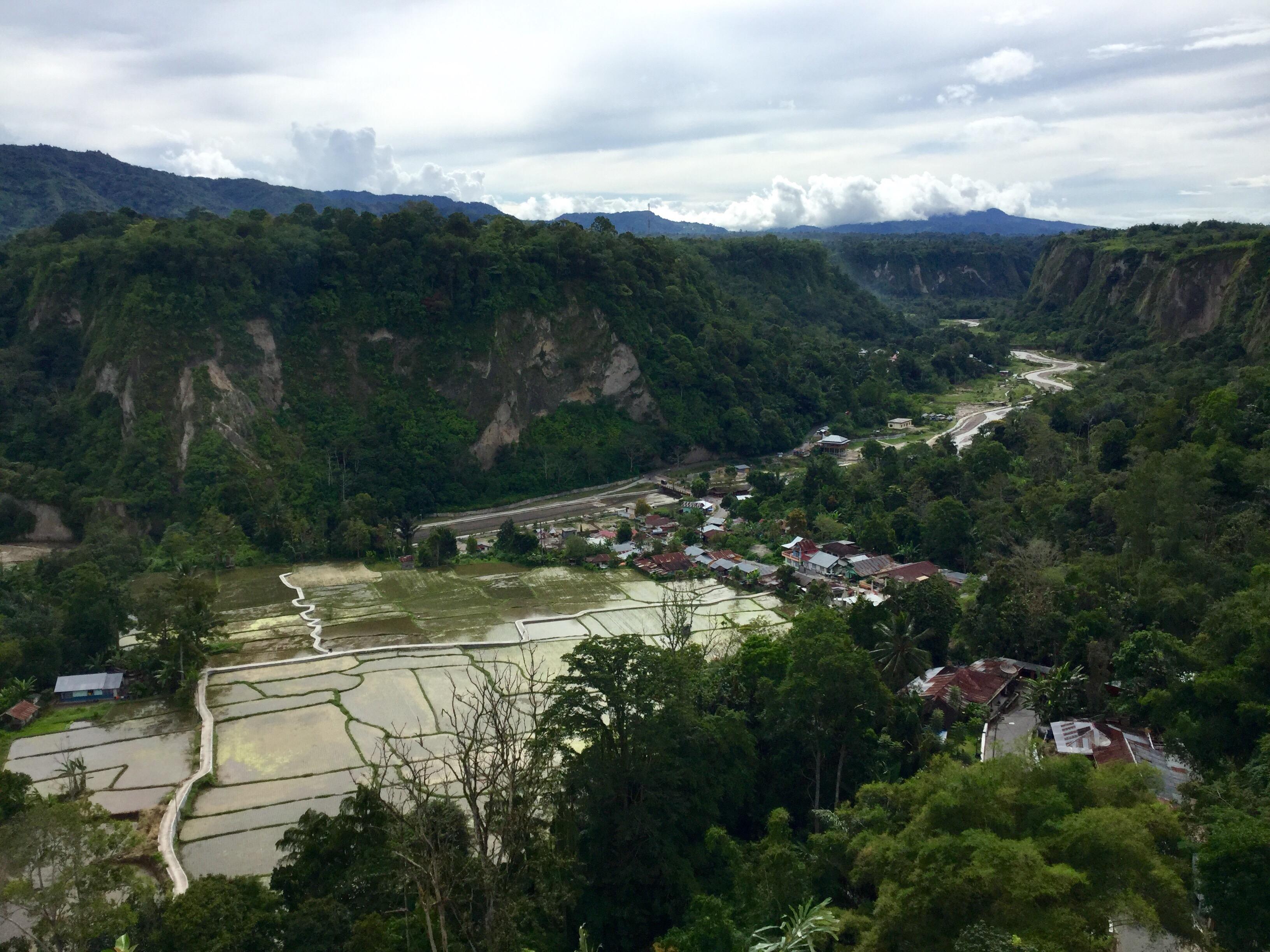 Sianok Canyon, Bukittinggi, West Sumatra, Indonesia