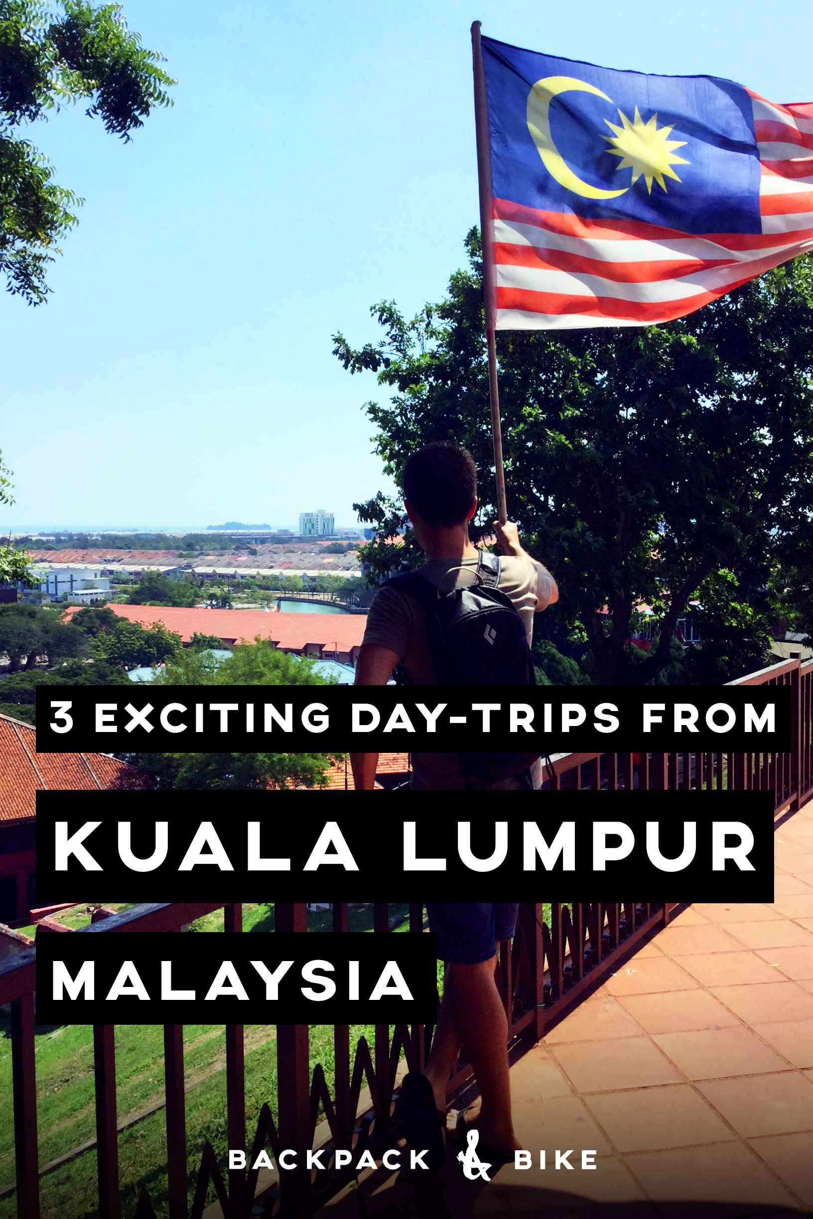 Though Kuala Lumpur is an exciting place, make sure not to miss it's wonderful neighbours. Here are 3 day trips you can take from KL to get away for a day.