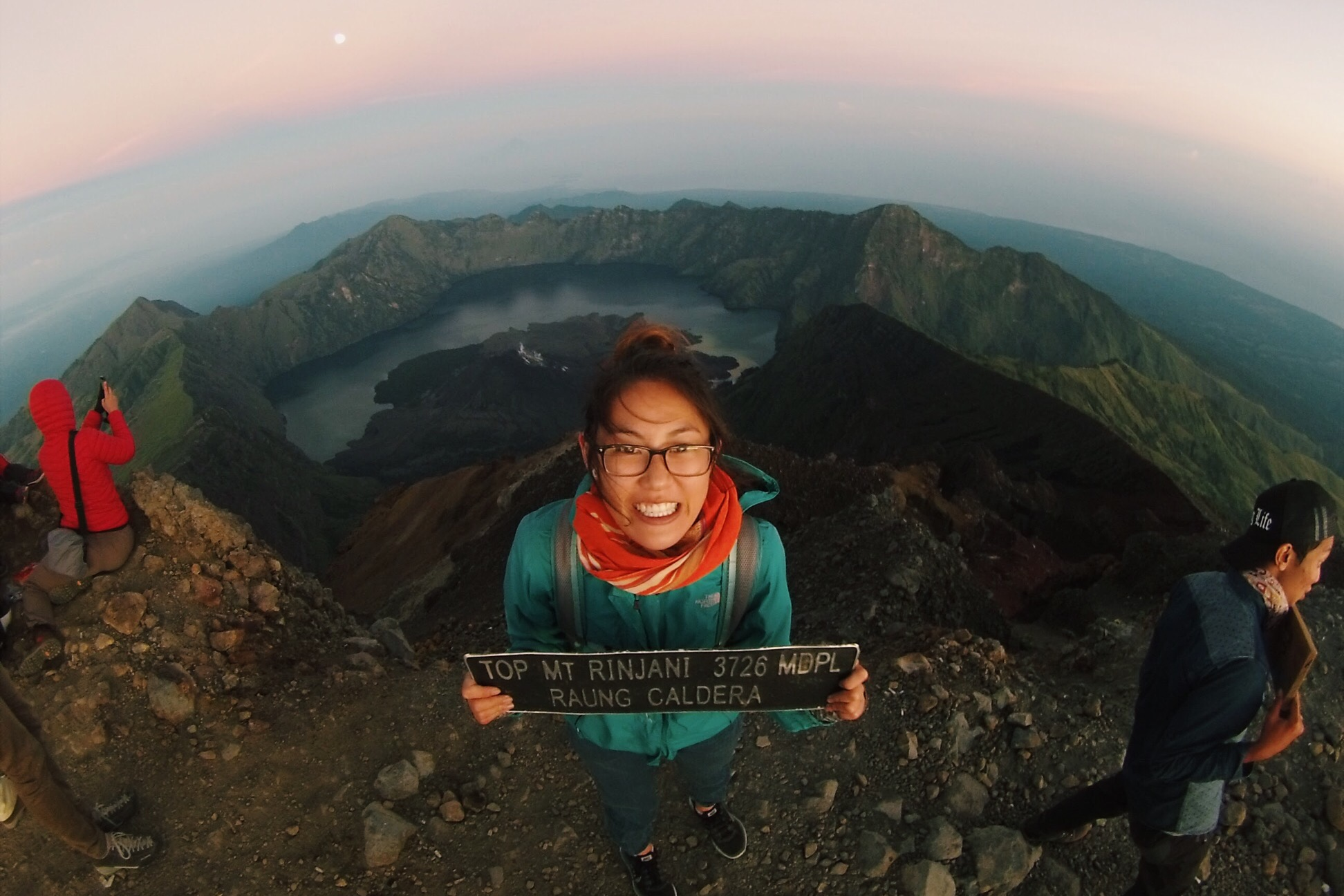 Mount Rinjani Summit