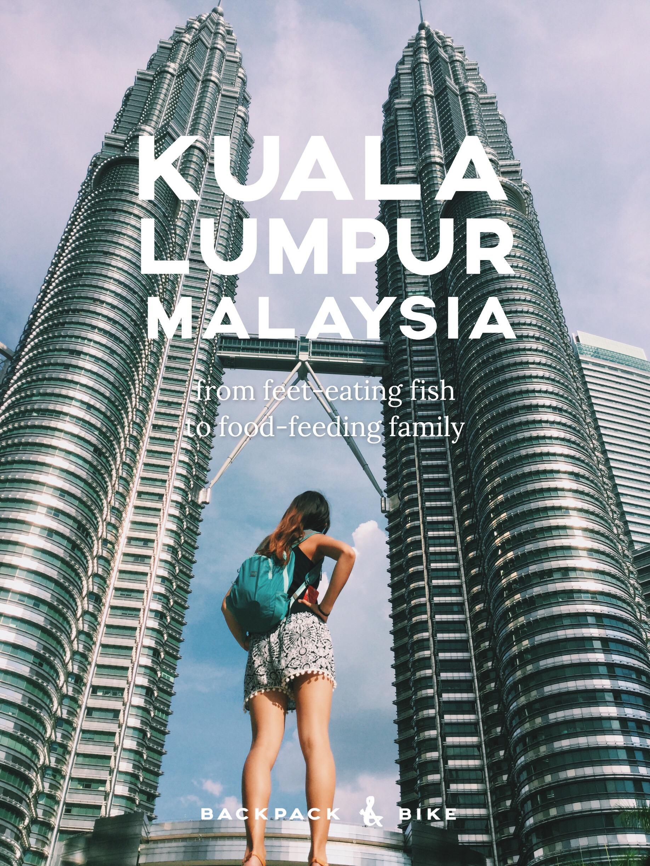 Kuala Lumpur, Malaysia   From feet-eating fish to food-feeding family