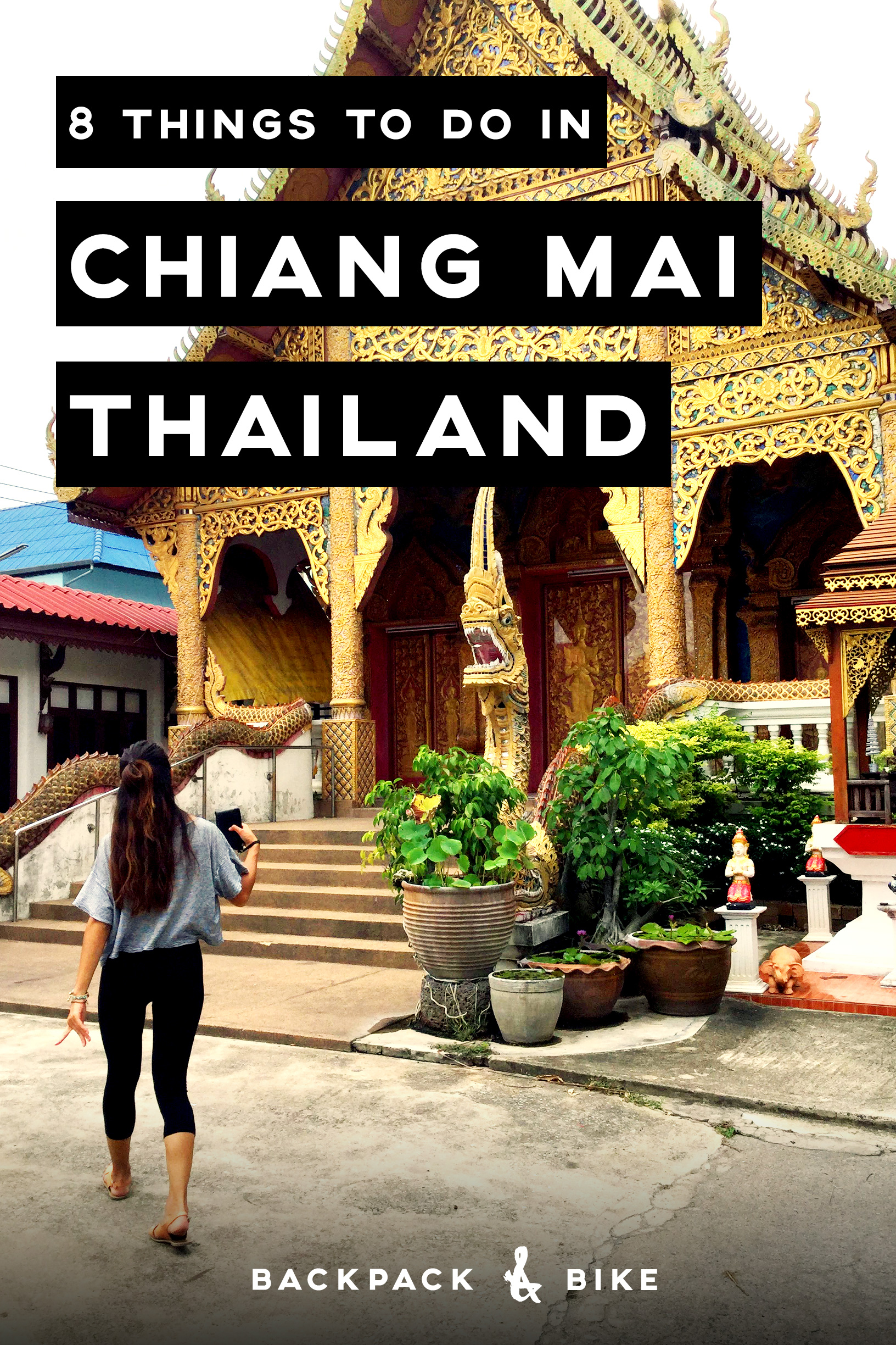 In Chiang Mai, Thailand, buddhist temples and air conditioned hipster cafes live in harmony. Spend some time wandering the streets and hit up these 8 things to do in Chiang Mai that won't break your budget.