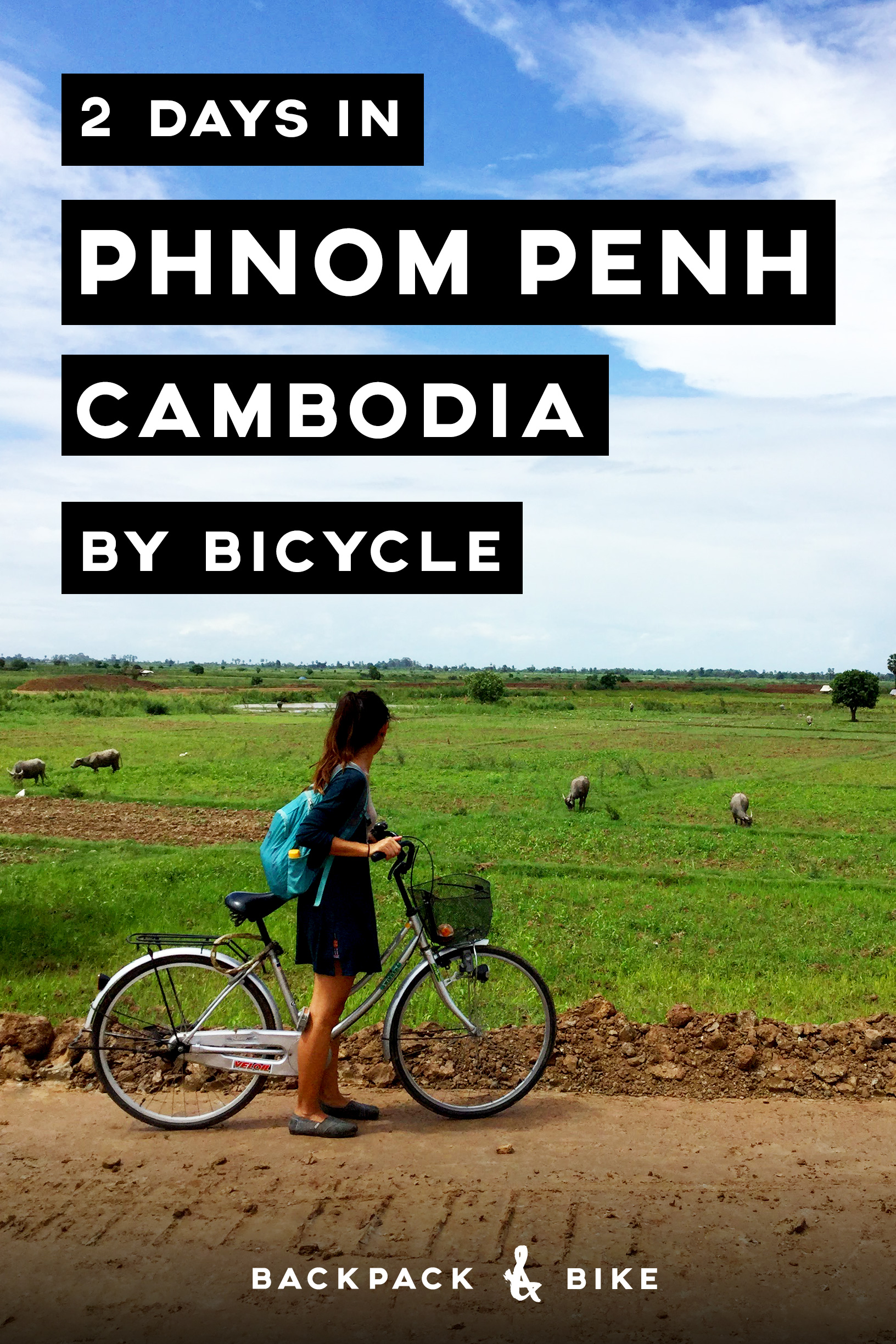 2 days in Phnom Penh Cambodia by Bicycle | Want to get off the beaten path and see a unique side of Phnom Penh, Cambodia? Let us be your guide to navigating Phnom Penh on bicycle.