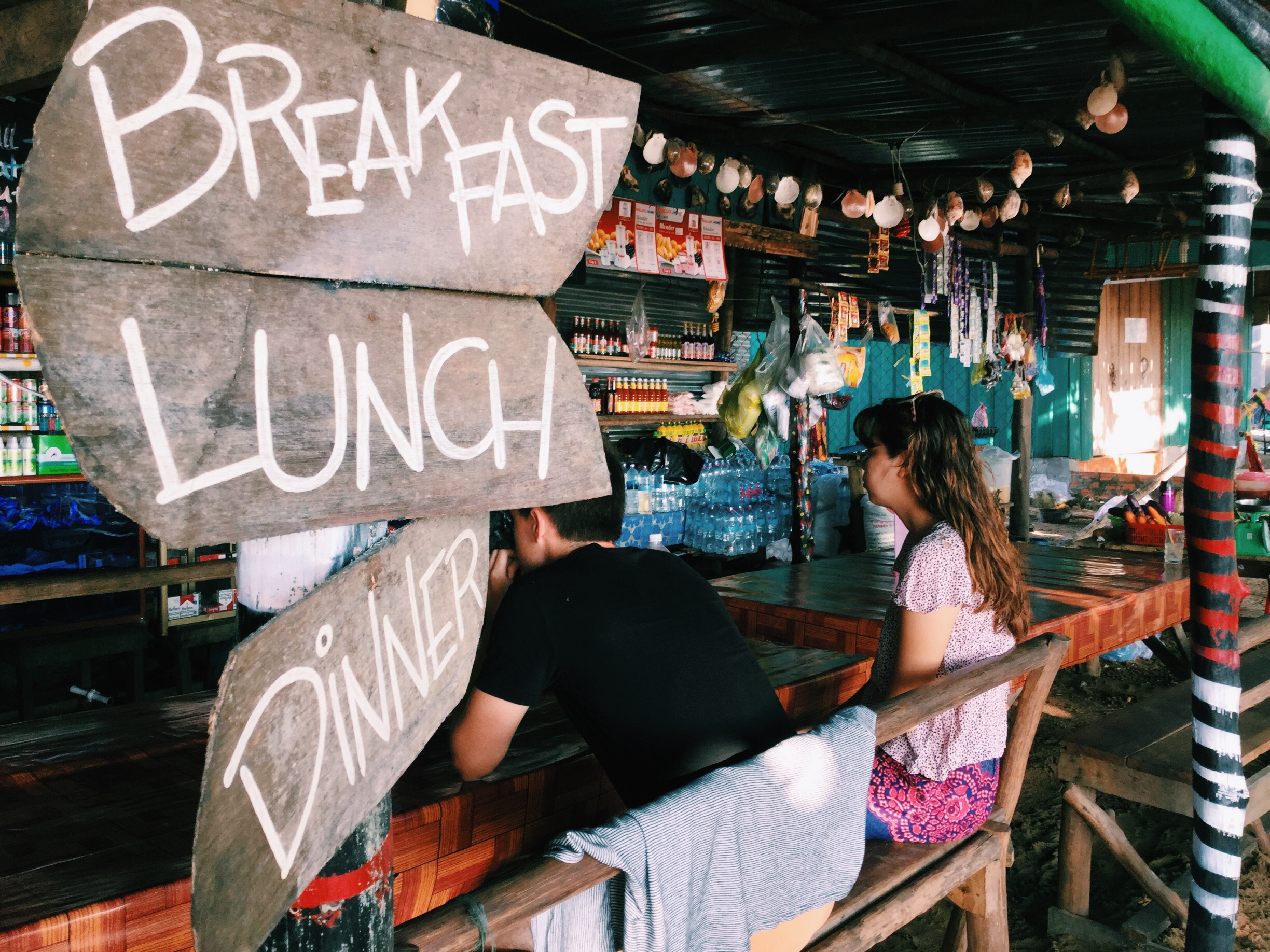 breakfast lunch dinner island cambodia