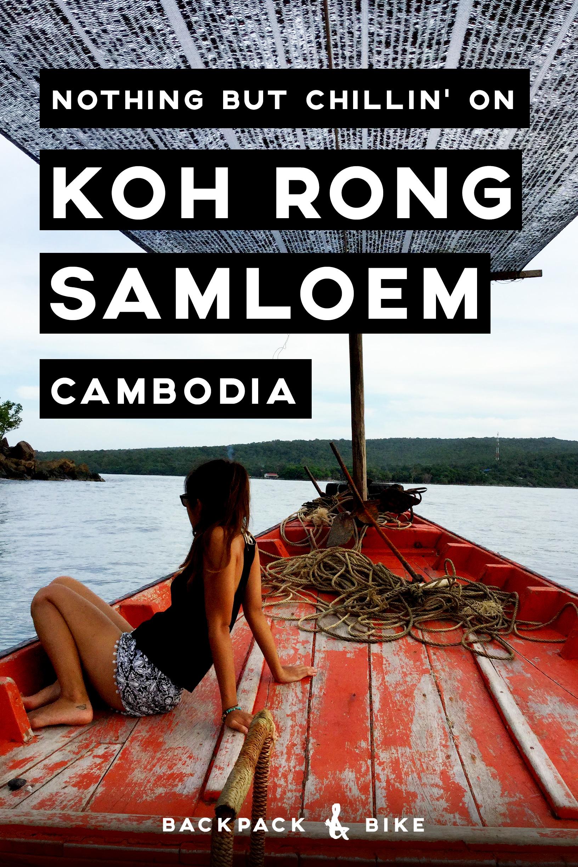 Nothing but chillin' on Koh Rong Samloem | Cambodia