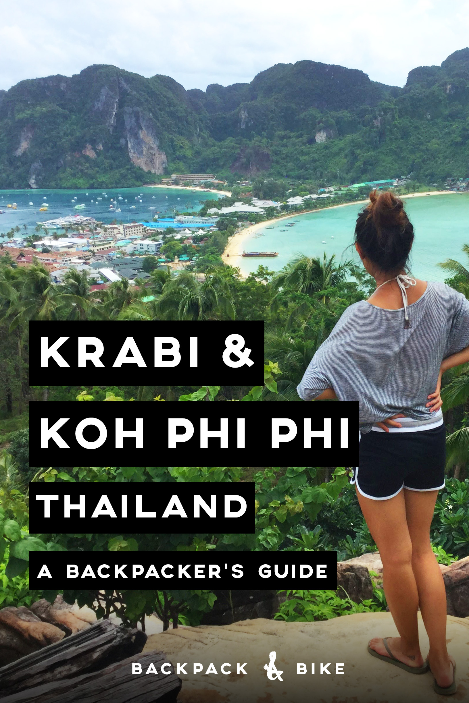 South Thailand is probably best known for its beautiful beaches, wild island parties, and delicious food. Here's everything you need to know about backpacking Krabi & Koh Phi Phi on a budget!