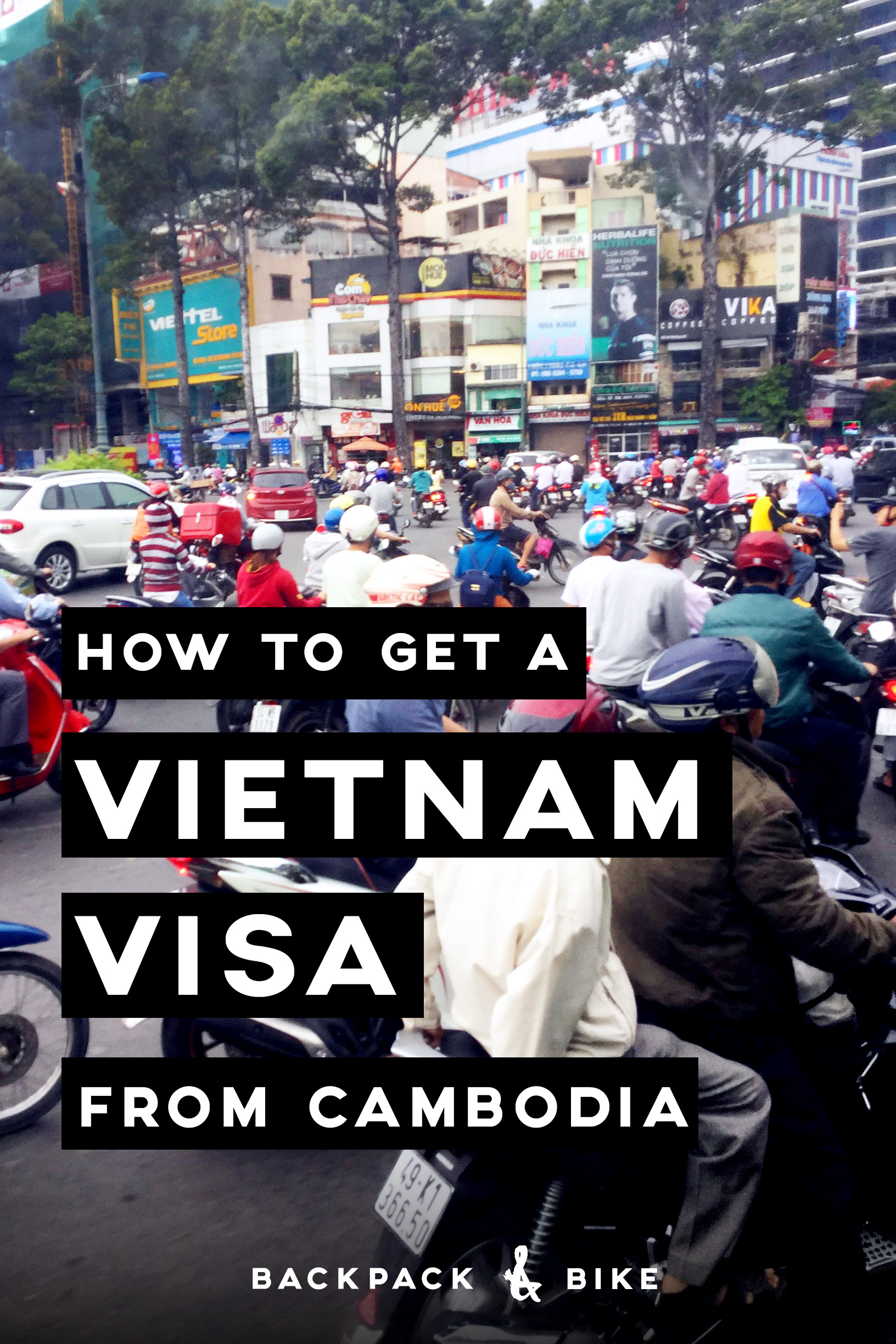 How to get a Vietnam Visa from Cambodia   By now you have probably researched enough to realize that you cannot get a visa on arrival, like all of Vietnam's neighbouring countries. But don't fret, applying is easy.