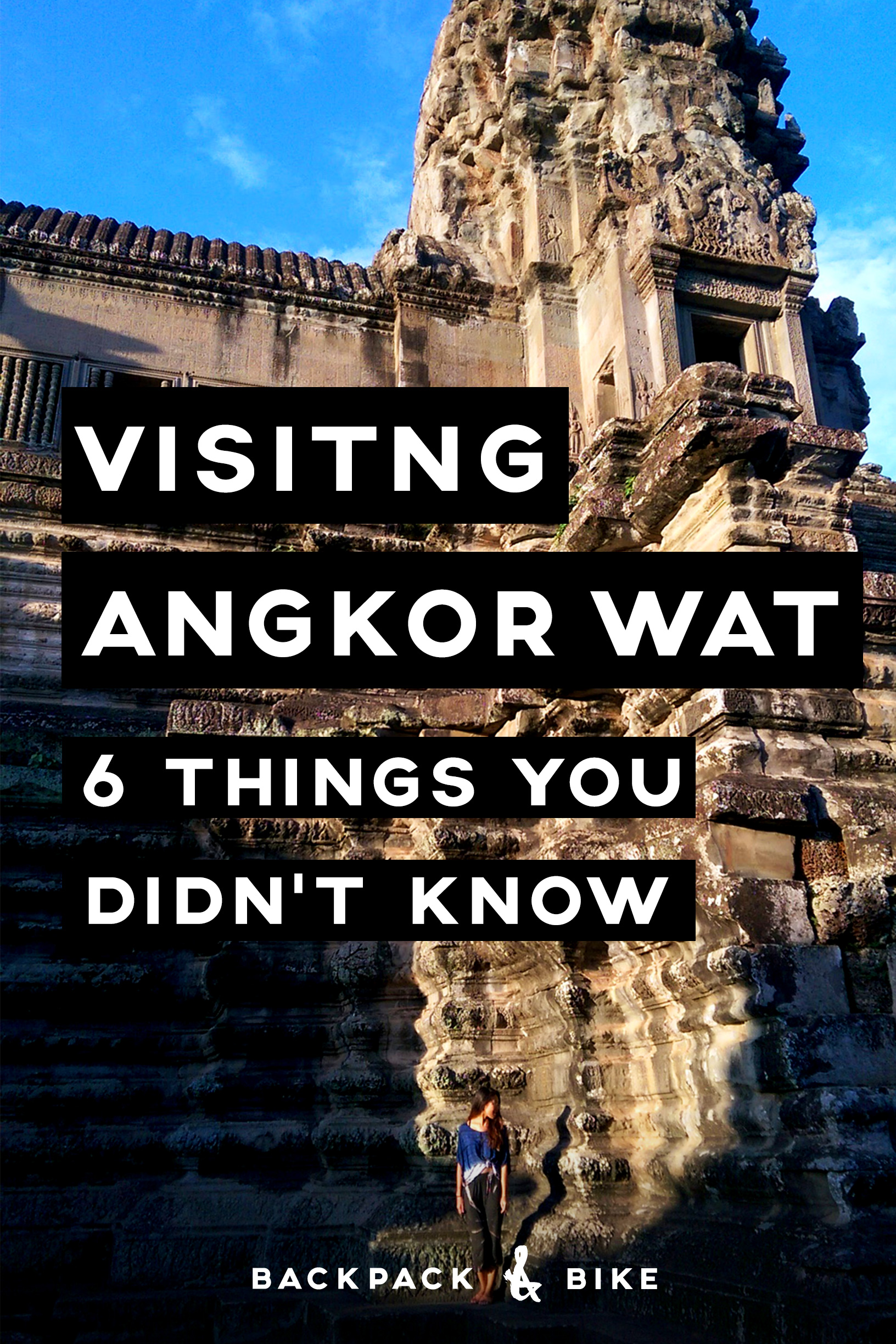 Visiting Angkor Wat | 6 Things You Didn't Know | So you're in (or planning a visit to) Southeast Asia. Have you considered a trip to Siem Reap, Cambodia to visit Angkor Archeological Park (Angkor Wat)?