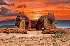 fiery-sky-over-pecos-pueblo-bill-barber