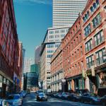 "Boston's ""Leather District."""