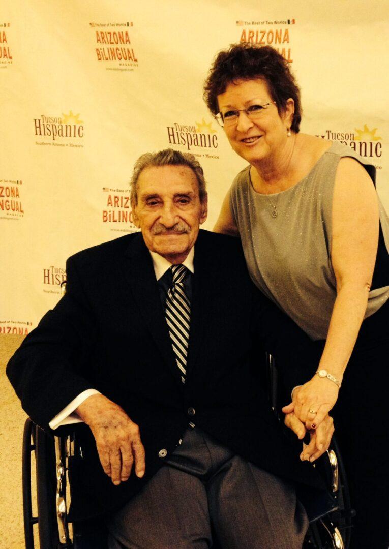 Raulito -Gov. Castro & Me at the THCC Gala.10.2014