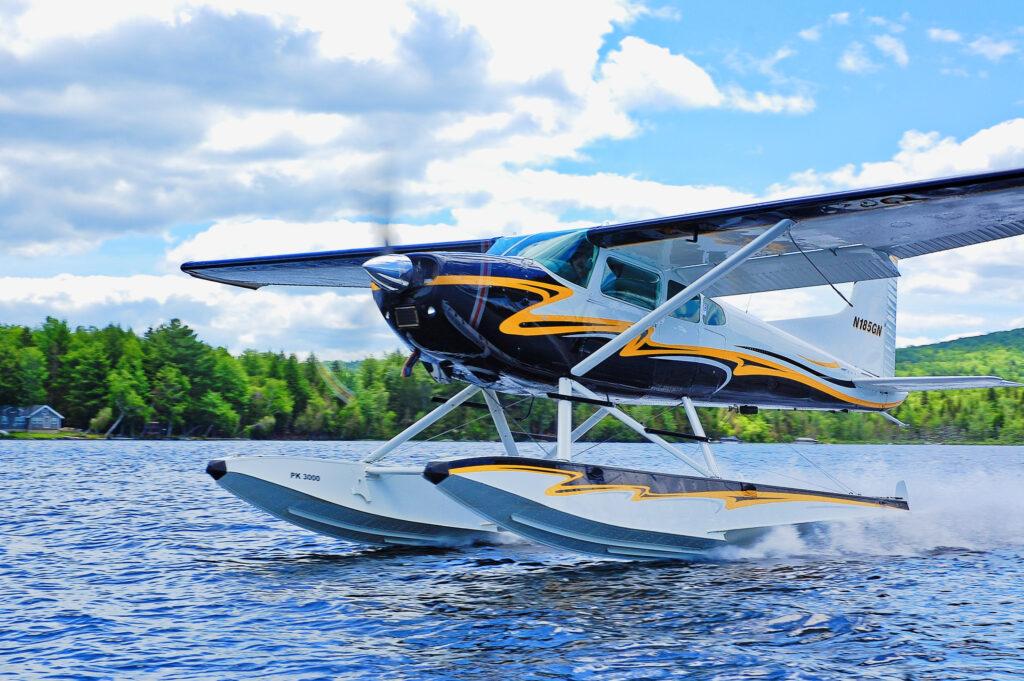 Cessna 185 on PK 3000's