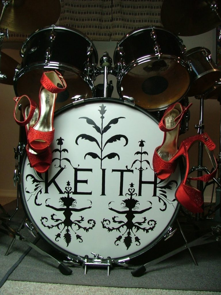 Drum set of the Keith Band