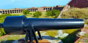 Cannon at Fort Jefferson