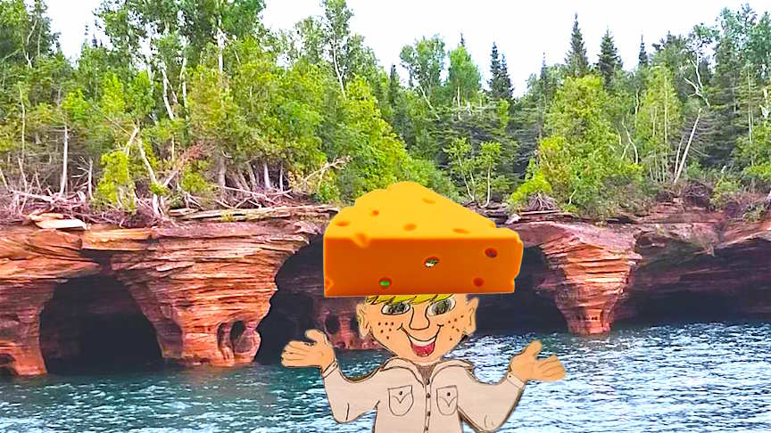 Devils Island in the Apostle Islands