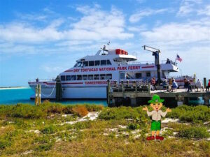 Dry Tortugas National Park Ferry Boat with Parker Flatly