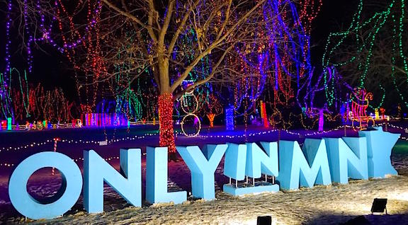Only in Minnesota Holiday Lights