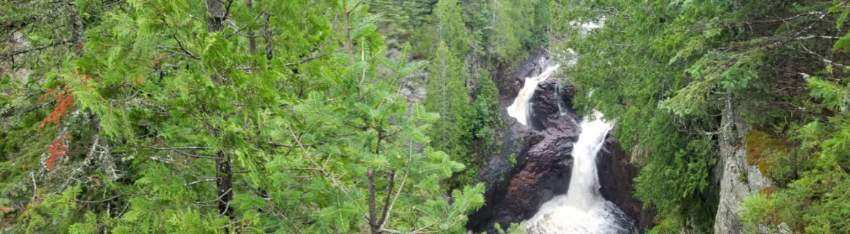 Devil's Kettle Falls again
