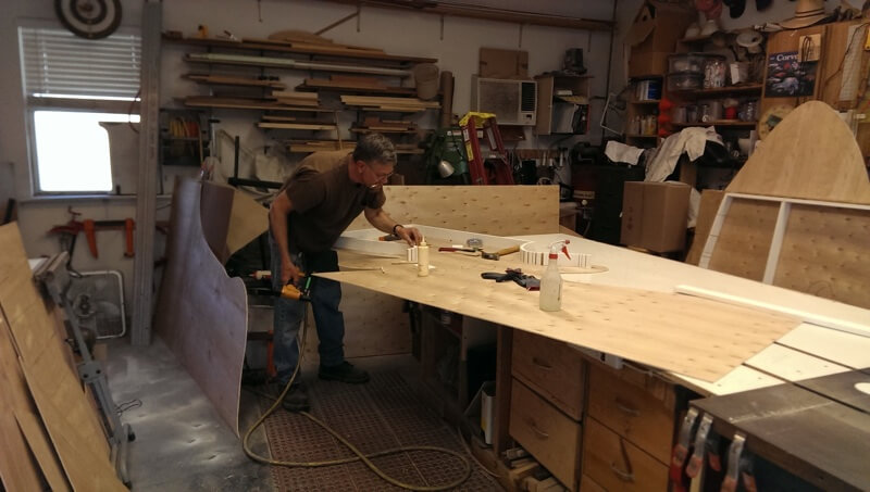 Dance Dad Uses Woodworking for Recitals