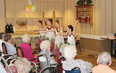 Dance Students Criss-Cross County to Share Joy