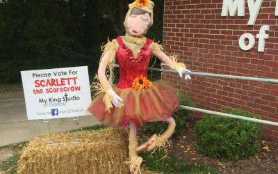 Scarlett the Scarecrow