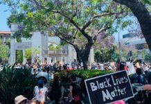 Black Lives Matter Protest in Culver City