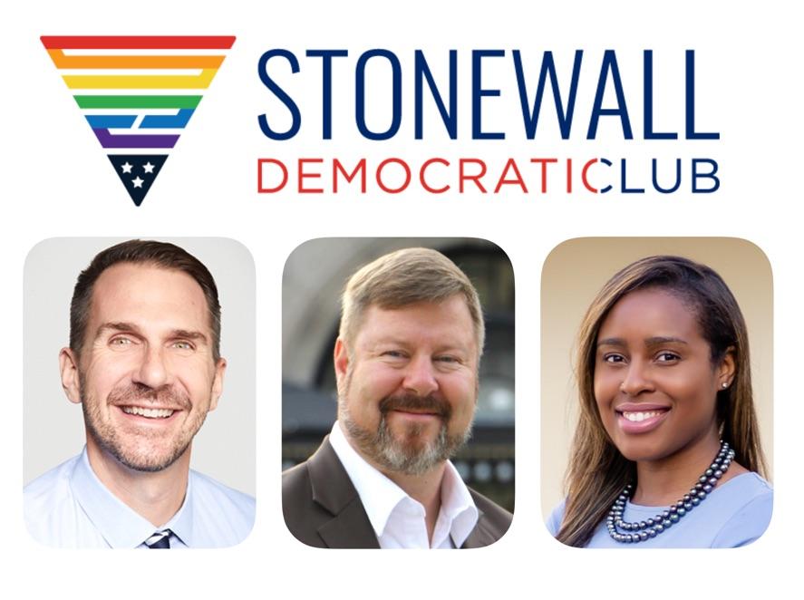 Stonewall Democratic Club Endorsees