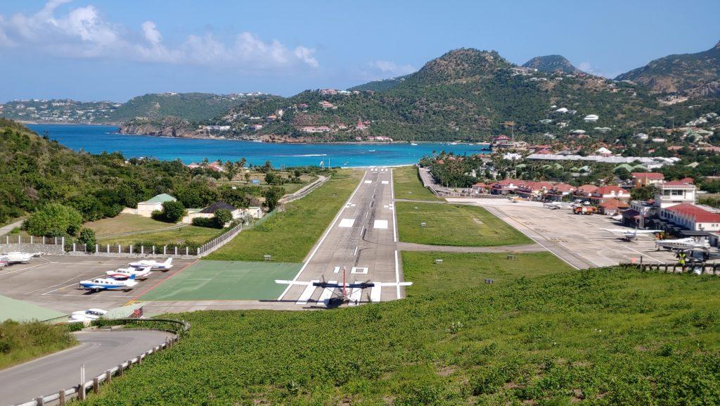 St Barth Runway SBH Airport