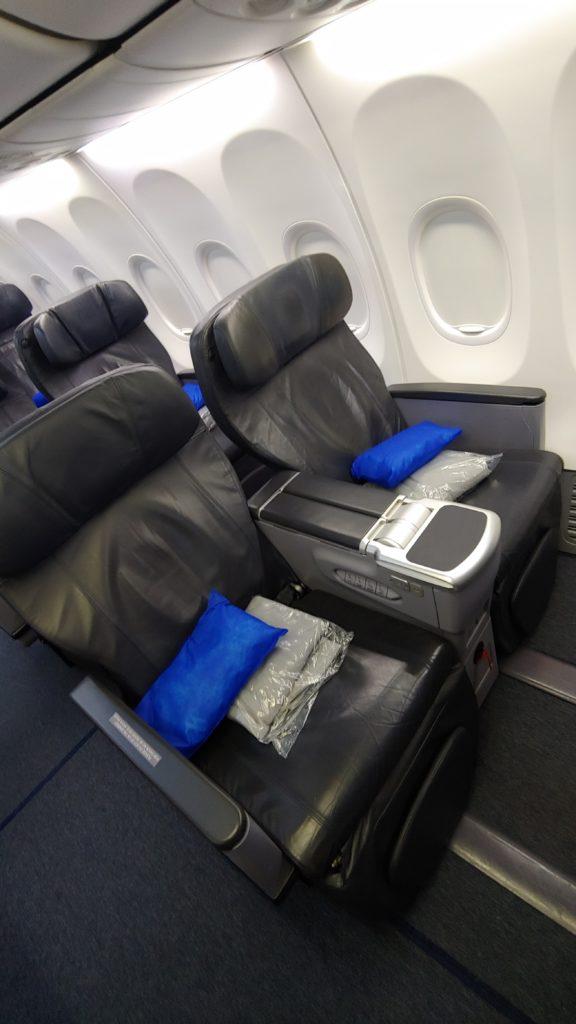 Copa Air Biz Seats