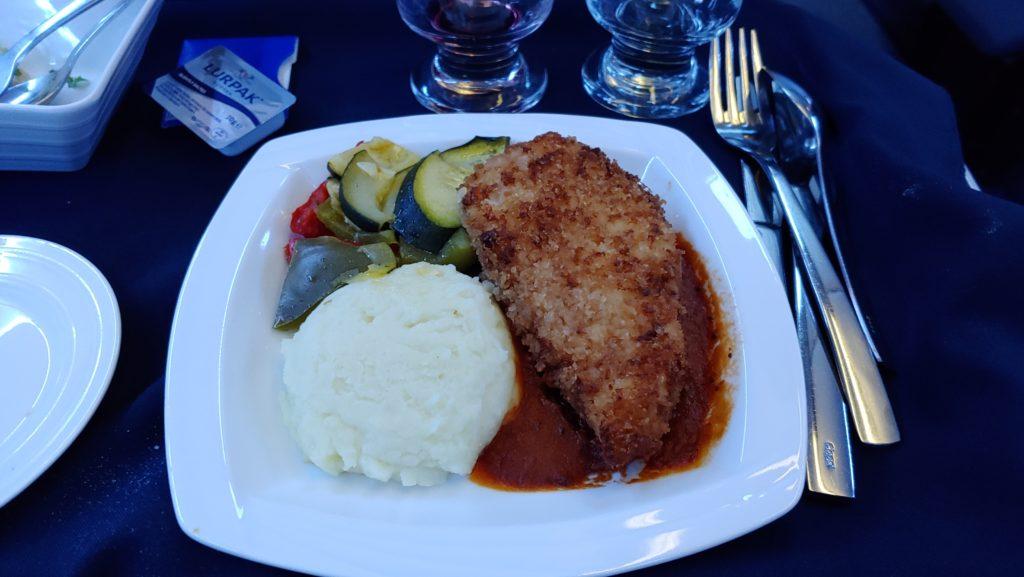 Dinner Copa Air Business Class