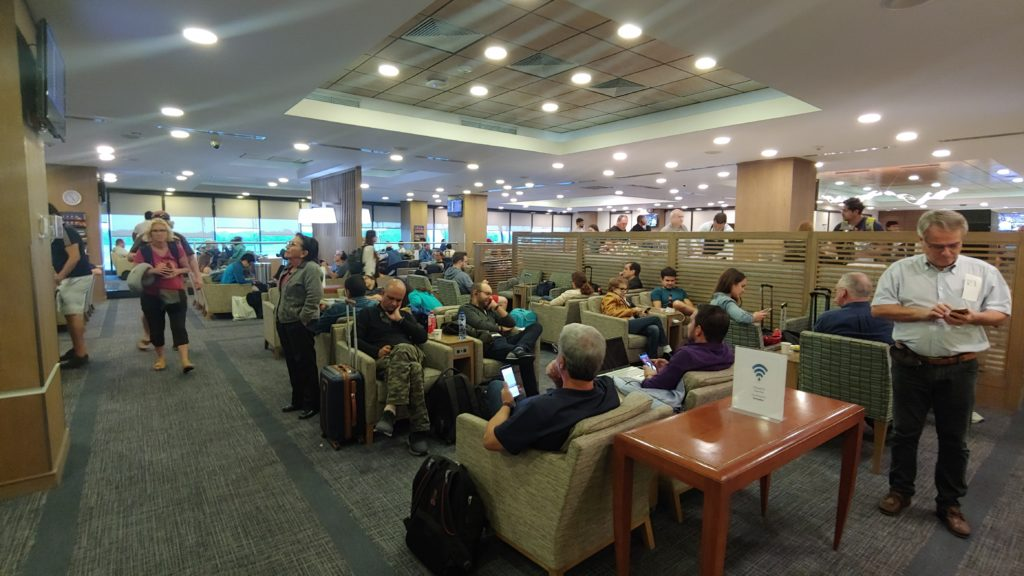 Copa Club PTY Airport