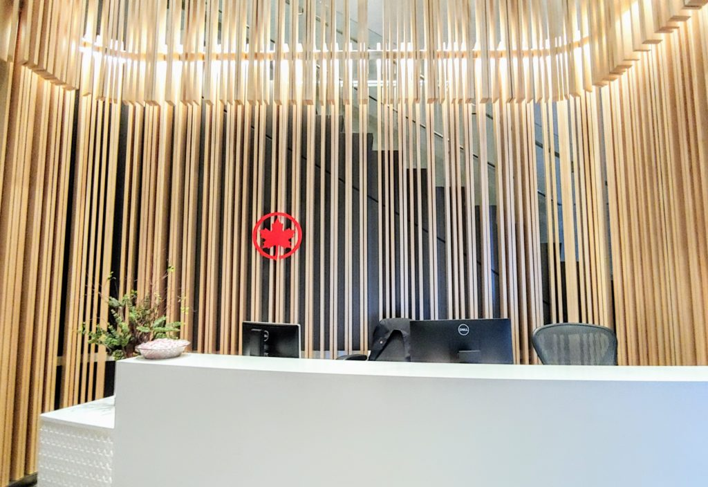 Air Canada Maple Leaf Lounge Montreal
